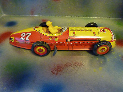 Vintage Marx #27 Race Car