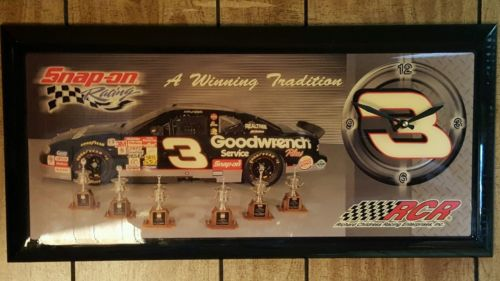Dale earnhardt clock