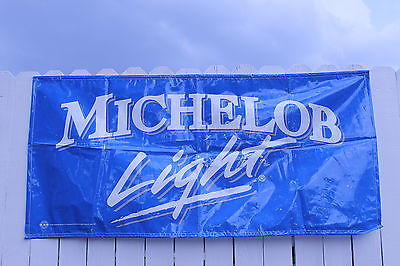 Michelob Light Beer Wall Banner Man Cave Sign Boy Decor