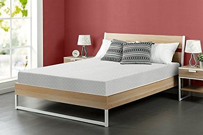 Zinus 8 Inch Memory Foam Queen Mattress Gift