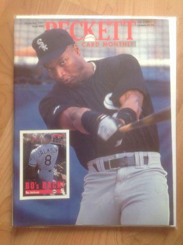 Beckett Baseball Card Monthly November 1991 Bo Jackson