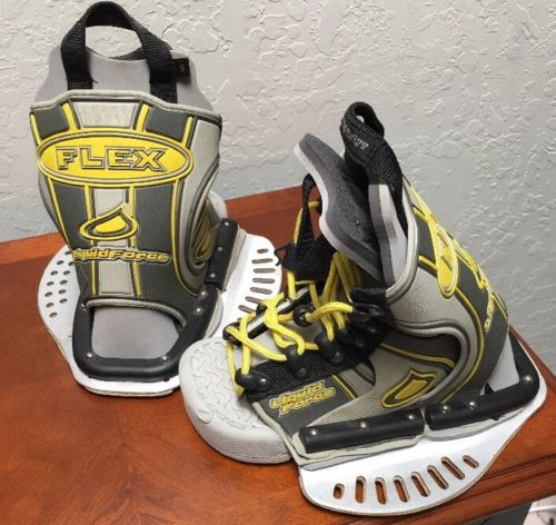 Liquid Force Flex Small Open Toe Bindings Boots Size Small
