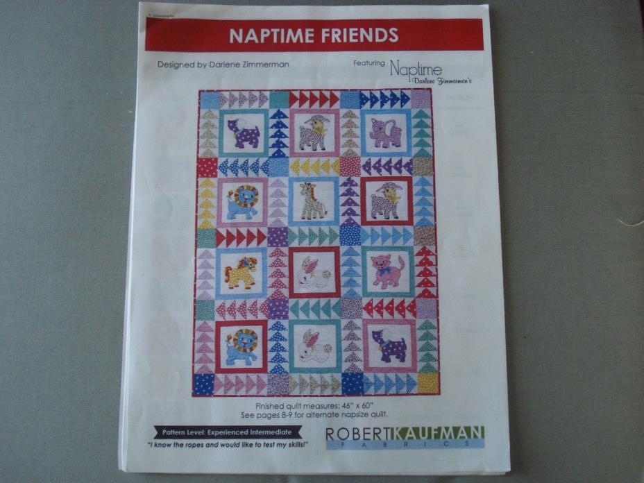 Naptime Friends Quilt Kit