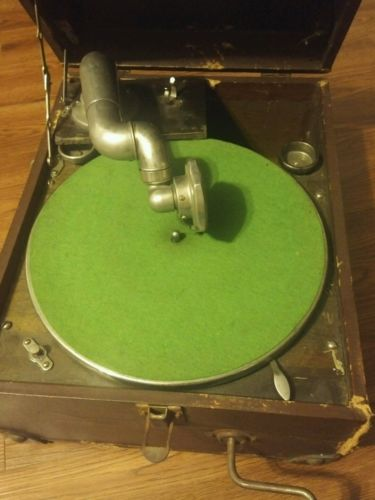 Antique Gramophone Record Player