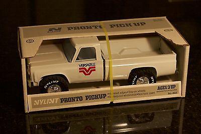 NYLINT Pronto Pickup White Chevy Chevrolet Versatile Farm Truck Rare