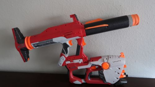 Nerf N-Strike Elite Titan Launcher and Hornet 2x3