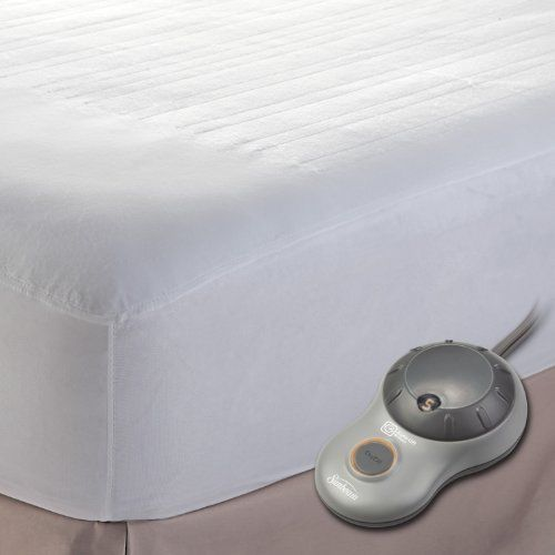 Electric Heated Mattress Pad Twin 10 Heat Settings Warm Bed Auto Off Extra Soft