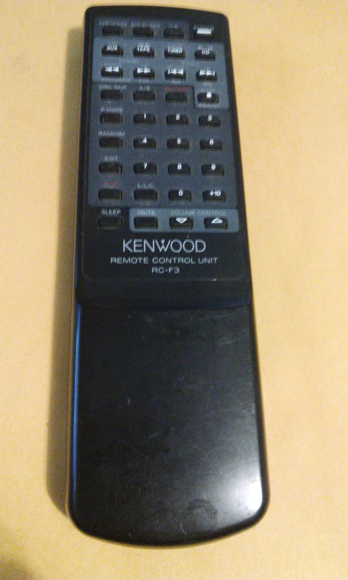 Kenwood RC-F3 RCF3 Mini Bookshelf Stereo Remote Control