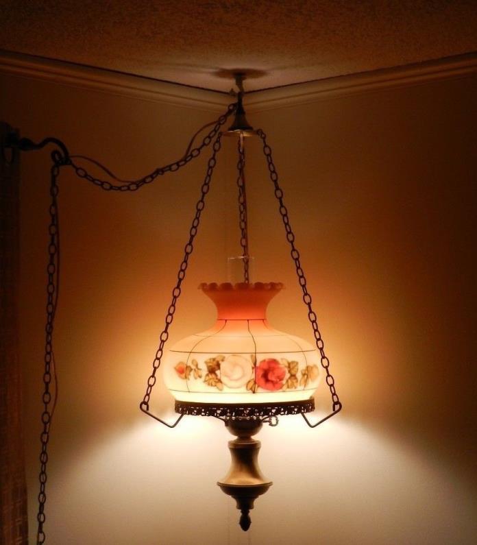vintage swag lamps for sale classifieds. Black Bedroom Furniture Sets. Home Design Ideas
