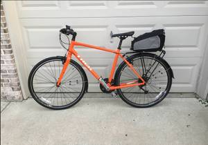 Trek 7.4 FX Hybrid Bike with accessories (Murray, UT)