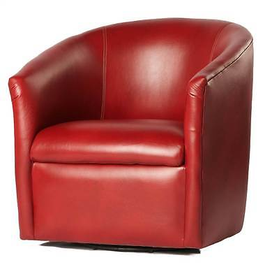 Draper Swivel Chair in Red [ID 3295867]