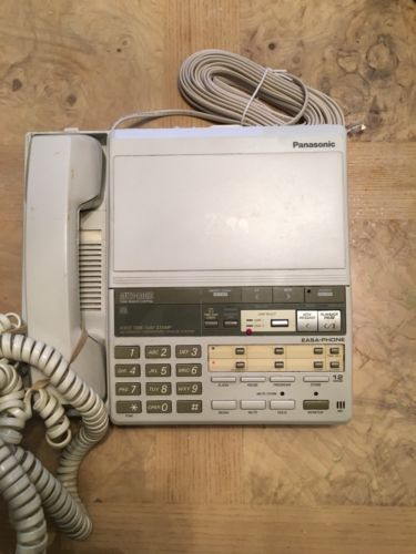 Panasonic Easa-Phone Kx-T2460 Corded Telephone With Answering Machine