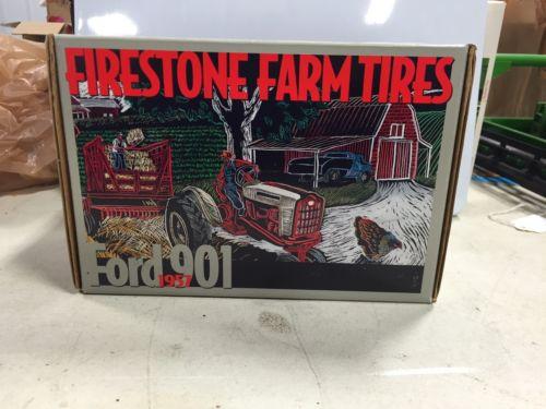 ERTL FORD 901 FIRESTONE SERIES Tractor 1/16 NIB #d 3058/5000