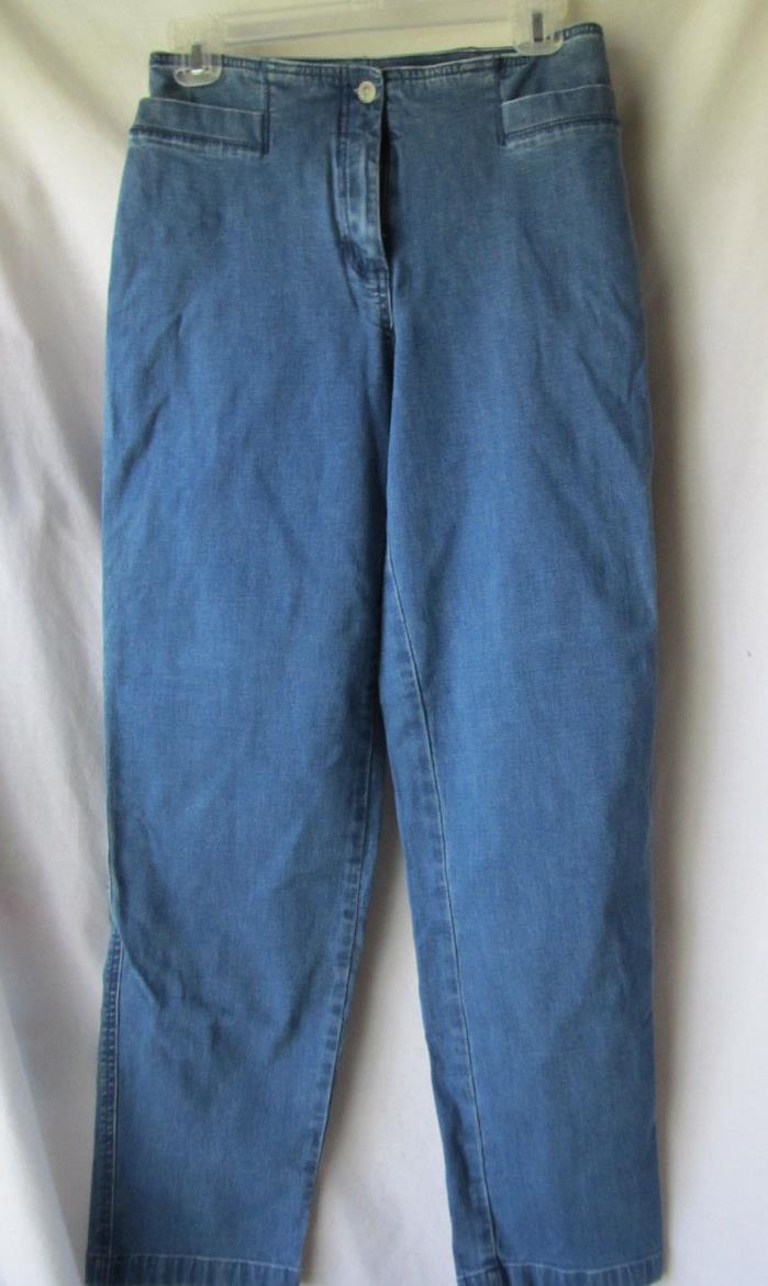 J.Jill womens denim stretch sz 6 jean pants
