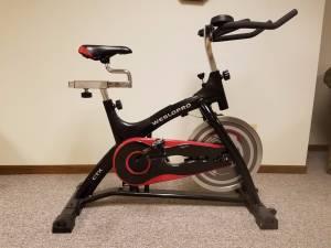 stationary exercise bike (La Crosse)