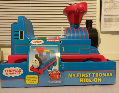 Thomas the train my first ride on