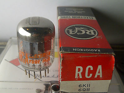 RCA 6K11/6Q11 Grey Plate Side O Get Vacuum Tube  (( FREE SHIPPING! ))