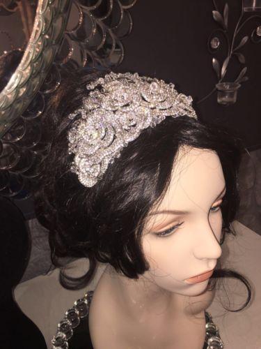 Handmade Swarovski Crystal Headpiece