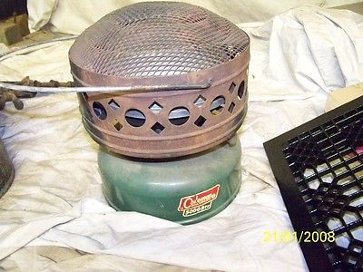 coleman heater CATALYTIC HEATER vintage ice fishing ice house