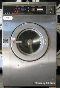 Speed Queen Triple Front Load Washer USED OPL Push To Start