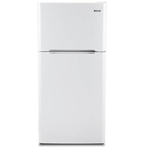 Della 4.5 cu. ft. Mini Compact Refrigerator Freezer Home Shelf Cooler w/ Drawer