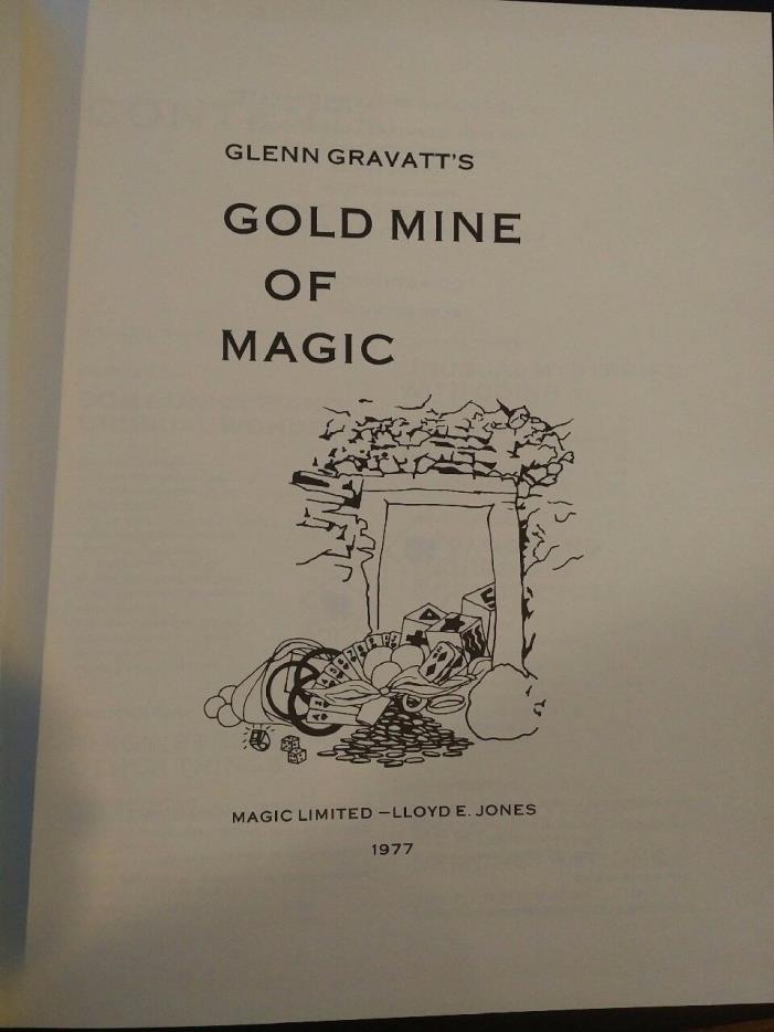 Gold Mine of Magic Glenn Gravatt