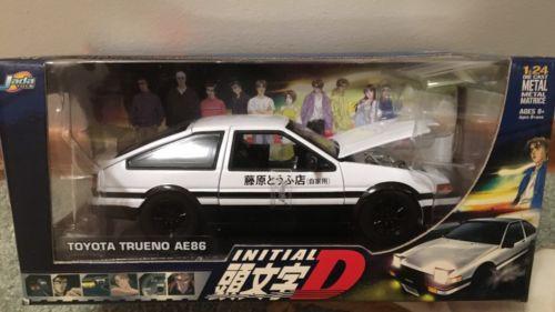 Jada Initial D Toyota AE86 Trueno 1:24 Die cast