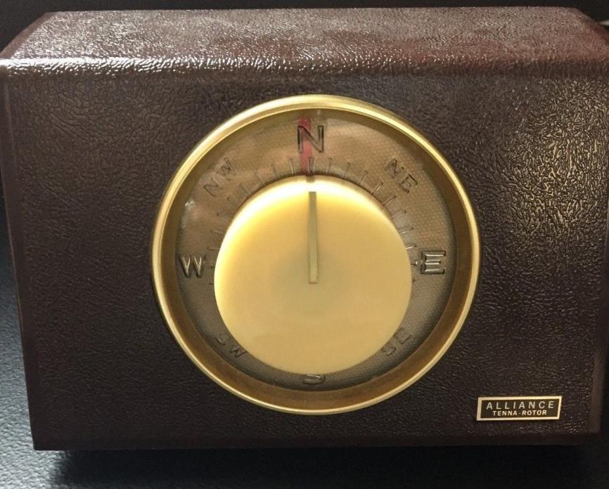 ALLIANCE TENNA ROTOR U = 100 CONTROLLER TV, HAM RADIO