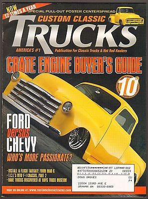 APRIL 2004 CUSTOM CLASSIC TRUCKS MAGAZINE 1953 CHEVY, 1953 FORD F-100