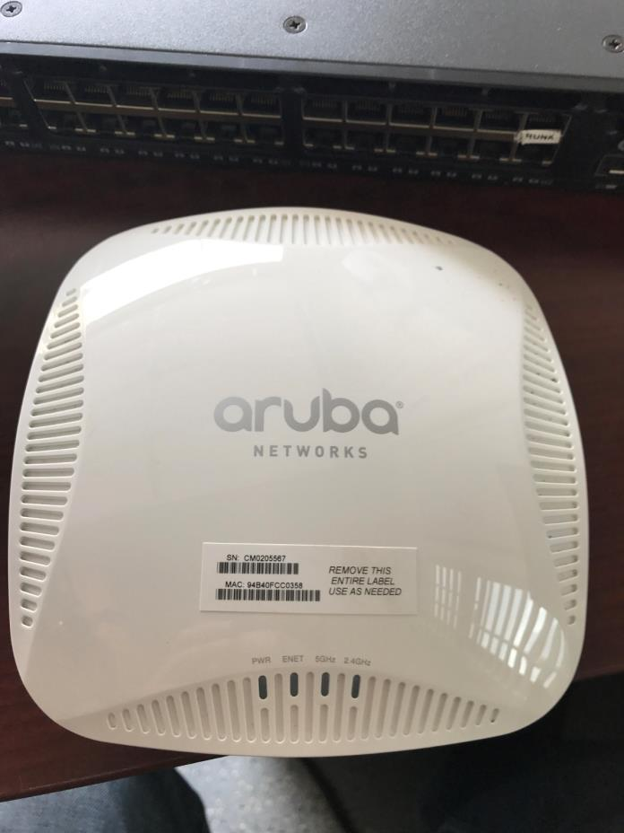 Aruba IAP-205-US Instant Wireless AP