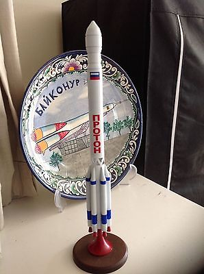 PROTON ROCKET FROM BAIKONUR COSMODROME RUSSIAN SOYUZ SPACE