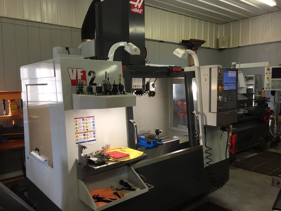 2013 Haas VF-2 CNC Vertical Machining Center (VMC)