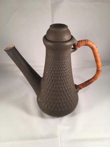 Einar Johansen Denmark Danish Modern Studio Pottery Ceramic Teapot