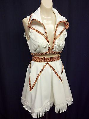 Costumes Western Top & Skirt Burlesque Cowgirl Mardi Grau Circus Carnival $189