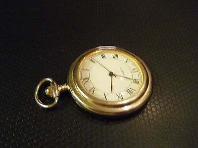 Vintage style pocket watch -  new battery - quartz - steampunk
