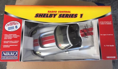 Signed By Carroll Shelby 1999 Shelby Series 1 Radio Control 1/16 Scale NOS