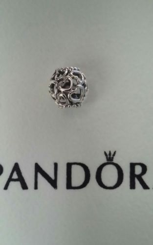 Pandora Silver 925 Open Heart Charm