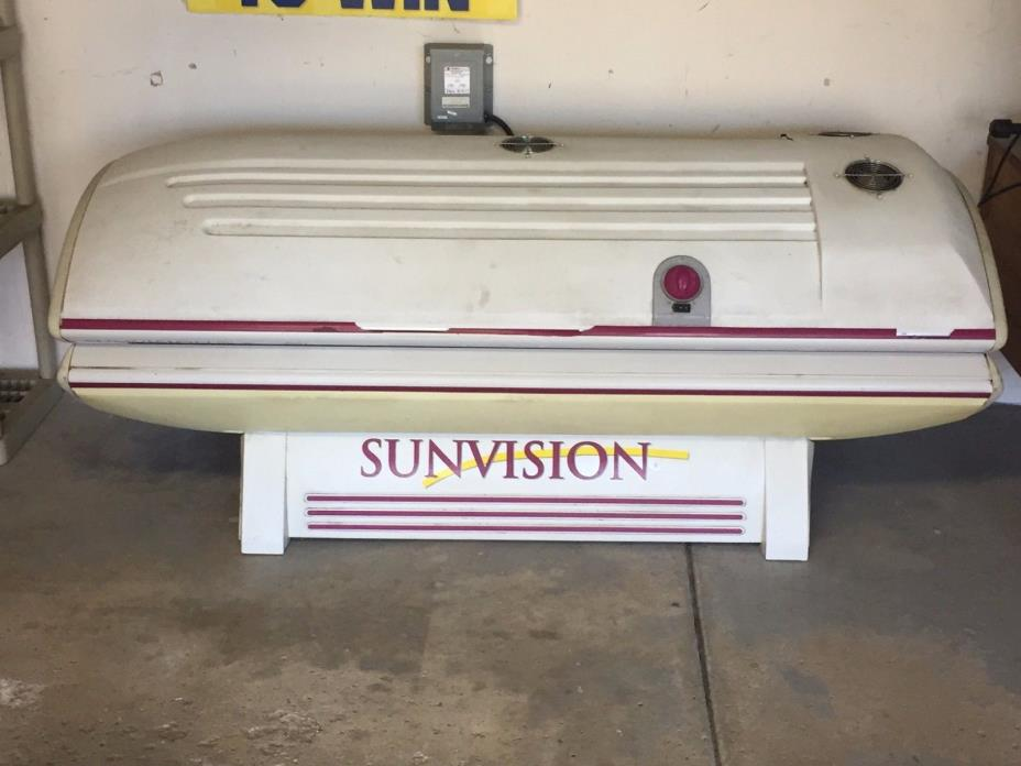 Sunvision Pro S Tanning Bed