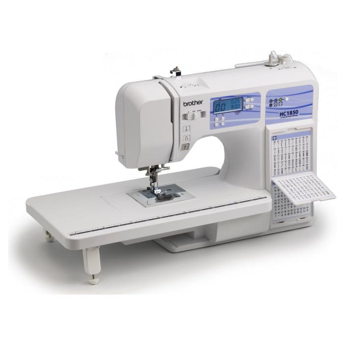 Sewing Quilting Machine Computerized Embroidery Stitch Quilt Wide Heavy Duty DVD