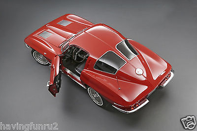 1963 Corvette Coupe Overhead Shot Press 8 x 10 Photograph