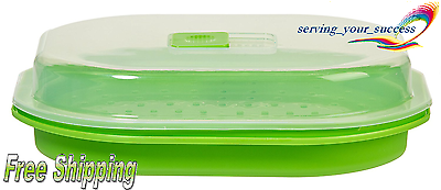 Prep Solutions by Progressive Microwavable Fish and Veggie Steamer