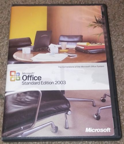 Microsoft Office 2003 Standard Edition With Product Key Full Version