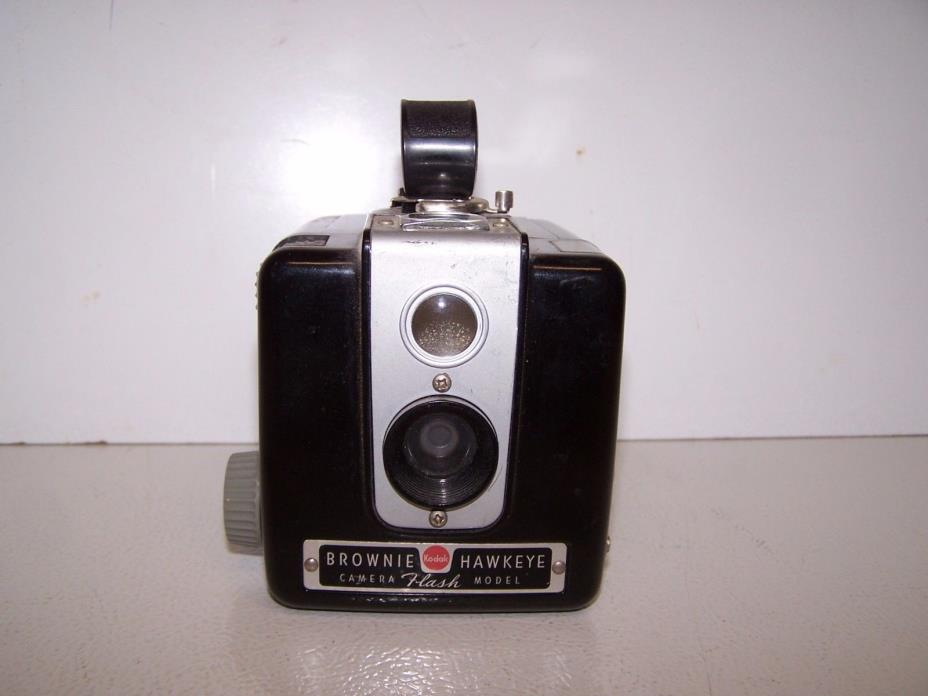 Vintage Kodak Brownie Hawkeye Camera with manual
