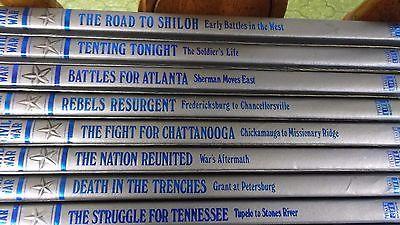 11 Time Life Books  The Civil War  Union Confederate