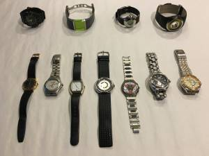 Collection of men's watches (x8) (Greenwood Village)