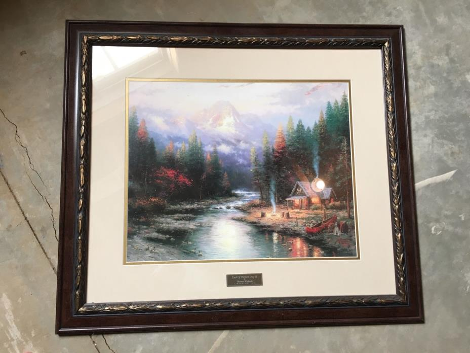 Home interior kinkade for sale classifieds - Home interiors thomas kinkade prints ...