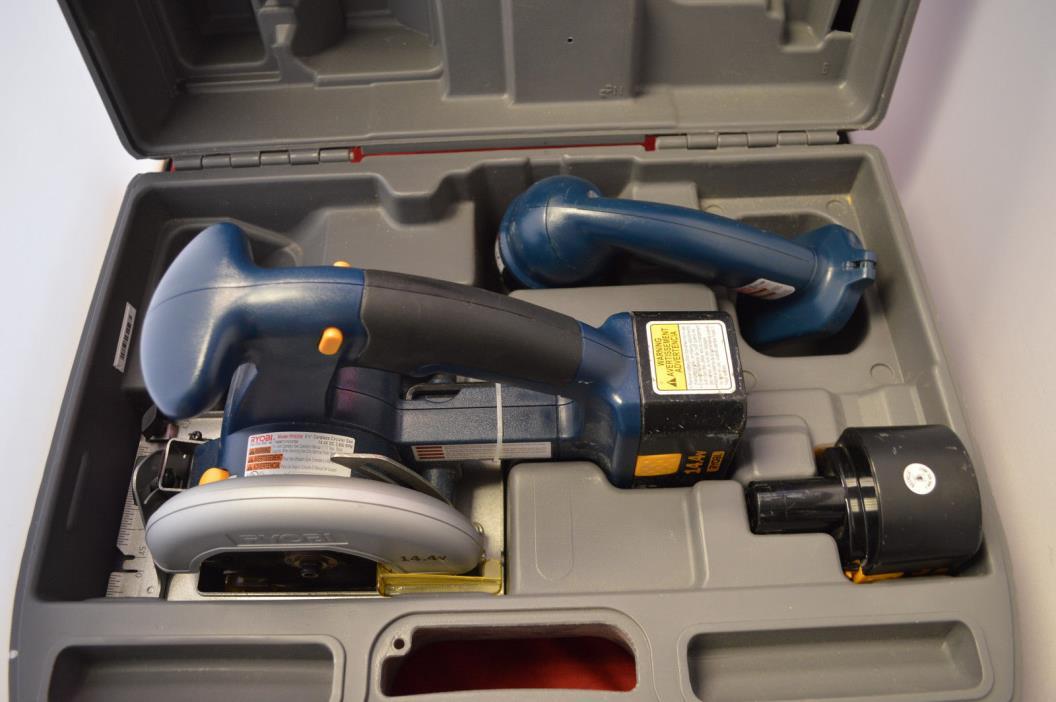 Ryobi RY6200/FL1400~14.4v Combo Set~Drill Saw & Flashlight in Case