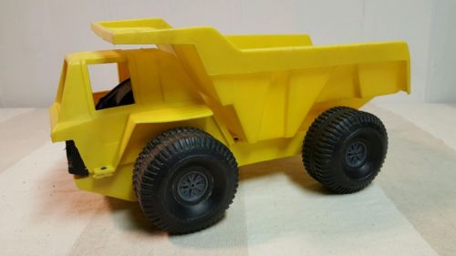 Vintage Ideal Toys 1973 Mighty Mo Dump Truck Friction Toy