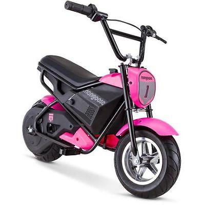 Mongoose 24V Mini Bike, Pink