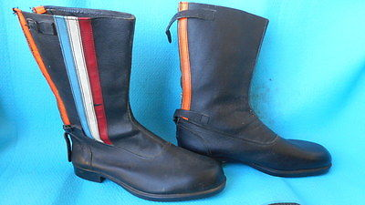 1960s topgear motorcycle boots new size 12